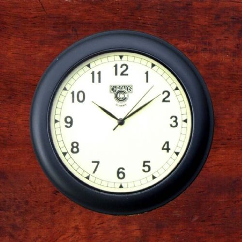 Classic Car Dashboard Clock - Cream Face
